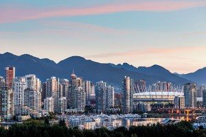Vancouver skyline at sunrise is shown in a handout photo. THE CANADIAN PRESS/HO-Destination BC-Albert Normandin